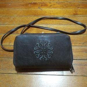 Handbags - Cross Body Wallet Organizer